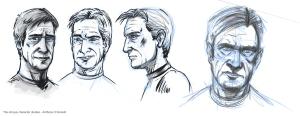 Character head studies